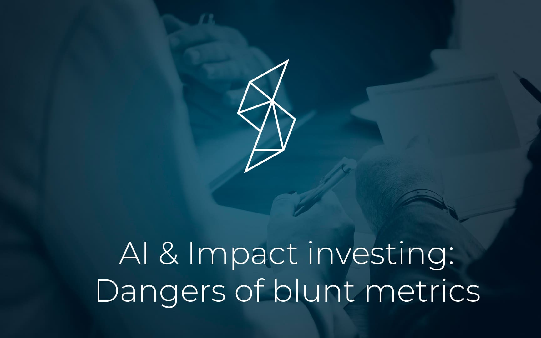 AI in Impact Investing: Goodhart's Law, Unintended Consequences, and the Dangers of Blunt Metrics