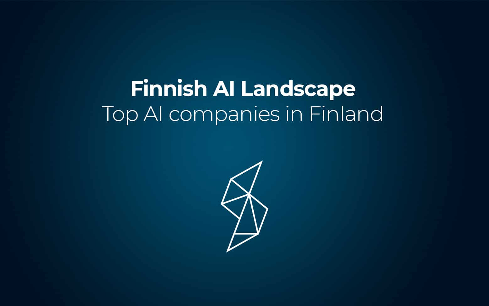 Silo.AI selected as one of the Top AI companies in Finland