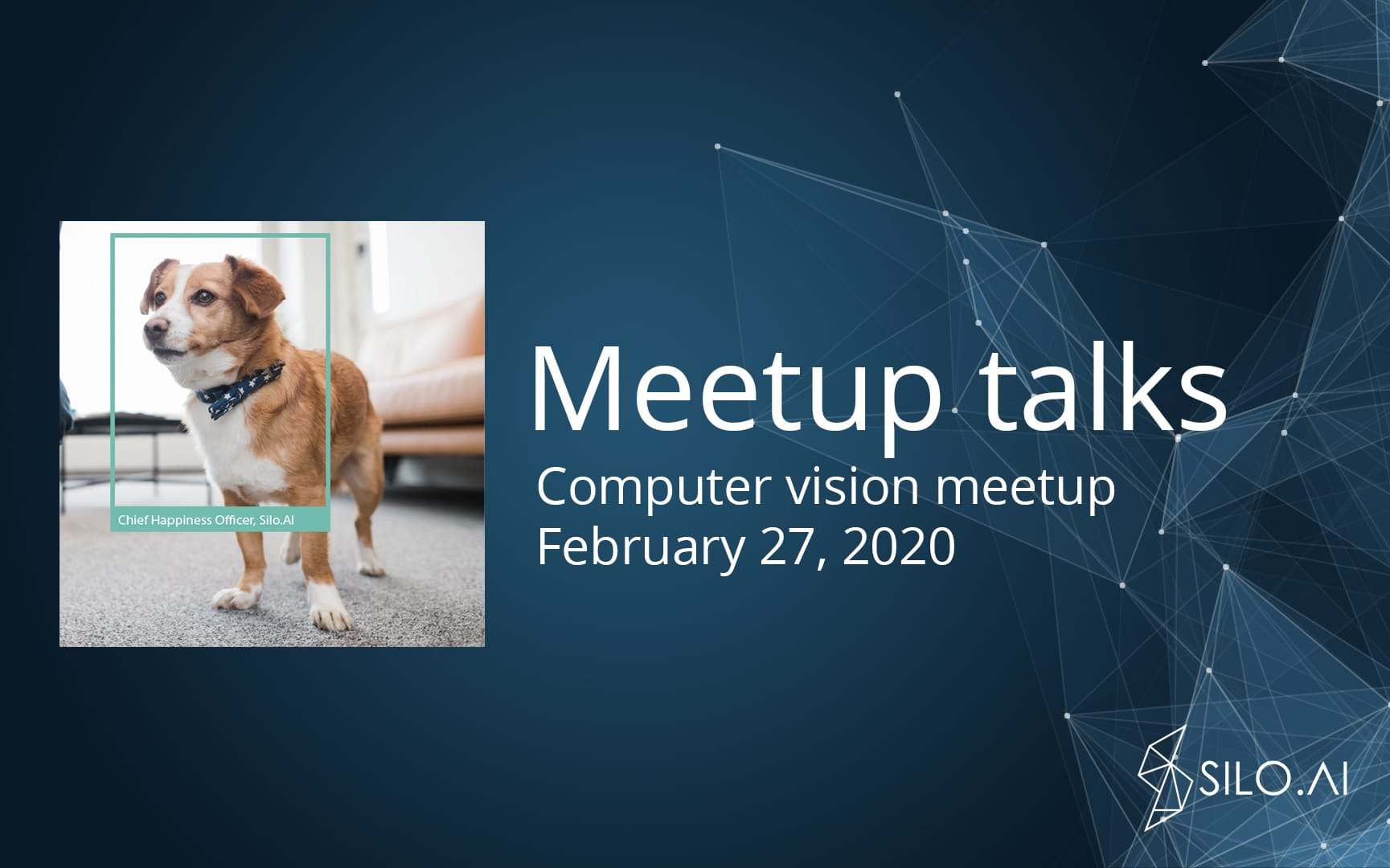 Computer vision meetup – watch the talks