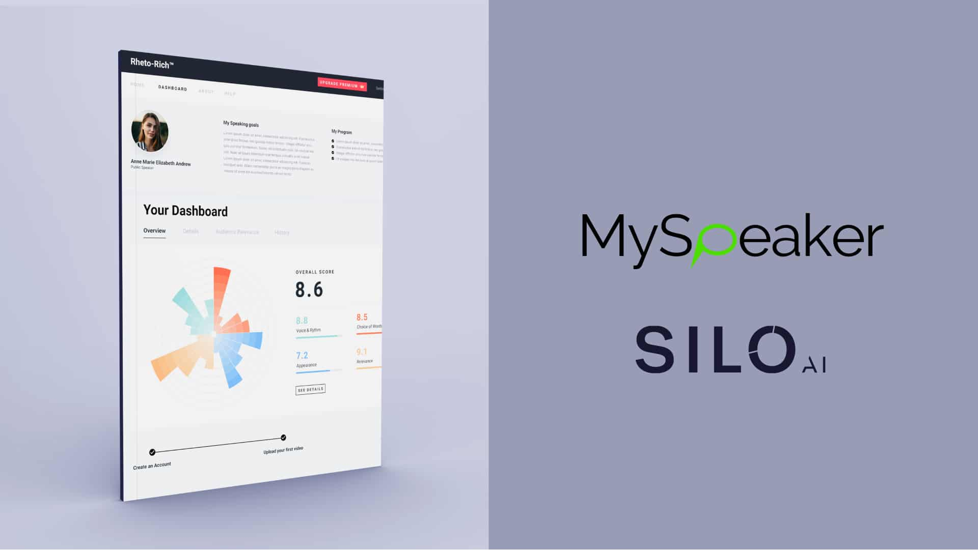 MySpeaker and Silo AI set out to help people become better speakers through personal AI-driven feedback